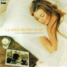 CDs de Música: CD LA OREJA DE VAN GOGH ¨LO QUE TE CONTÉ MIENTRAS TE HACÍAS LA DORMIDA¨. Lote 95700207