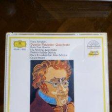 CDs de Música: 2 CD, SCHUBERT, DUETTE, TERZETTE, QUARTETTE VOCAL, DG. Lote 95722251