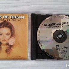 CDs de Musique: MARIFÉ DE TRIANA (VENDEDORA DE COPLAS )CD ORIGINAL Y MUY RARO. Lote 95723615
