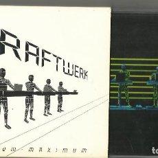 CDs de Música: KRAFTWERK DOBLE CD MINIMUM - MAXIMUM. 2005. ESCUCHADO. Lote 107218748