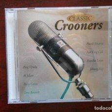 CDs de Música: CD CLASSIC CROONERS - BING CROSBY, AL JOLSON, PERRY COMO, TONY BENNETT, FRANK SINATRA... (2T). Lote 95763843