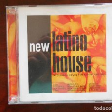 CDs de Música: CD NEW LATINO HOUSE (2 CD) - NEW SALSA HOUSE FOR A NEW CENTURY (2T). Lote 95768631