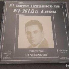CDs de Música: EL CANTE FLAMENCO DE EL NIÑO LEON CD GUITARRA MELCHOR DE MAIRENA 12 TEMAS. Lote 98180686