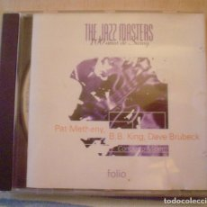 CDs de Música: THE JAZZ MASTERS.100 AÑOS DE SWING.PAT METHENY ,B.B. KING,DAVE BRUBECK. Lote 95805303