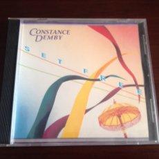 CDs de Música: CONSTANCE DEMBY - SET FREE. Lote 95833527