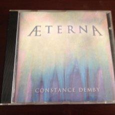 CDs de Música: CONSTANCE DEMBY - AETERNA. Lote 95833904