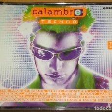 CDs de Música: CALAMBRE, TECHNO, CON TRES CD, 1997, DANCE, DJ, ERCOM. Lote 95834839