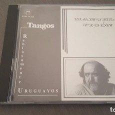 CDs de Música: MANUEL PICON CD TANGOS RABIOSAMENTE URUGUAYOS 9 TEMAS. Lote 95835535