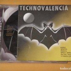 CDs de Música: TECHNO VALENCIA 6, CON 2 CD, CONTRASEÑA RECORDS, AÑO 1996. TECNO, RUTA DEL BAKALAO, DANCE, DJ, ERCOM. Lote 95836663