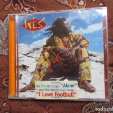 CDs de Música: WES- CDS-TITULO WELENGA- CON 14 TEMAS- ORIGINAL DEL 96- MUSICA WORLD- PLASTIFICADO DE FCA.. Lote 95847451