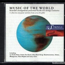 CDs de Música: MUSIC OF THE WORLD(101 STRINGS ORCHESTRA) CD. Lote 95897539