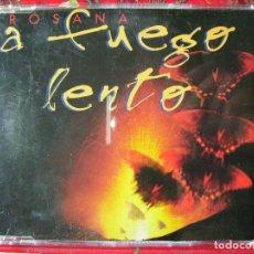 CDs de Música: ROSANA.A FUEGO LENTO..CD SINGLE PROMO...4 VERSIONES...PEDIDO MINIMO 5€. Lote 95901119