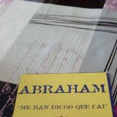 CDs de Música: CAJ-909 ABRAHAM ME HAN DICHO QUE CAI . Lote 95901359