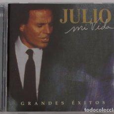 CDs de Música: JULIO IGLESIAS - MI VIDA - GRANDES EXITOS ( 2 CD) 1998 - 38 TEMAS. Lote 95907943