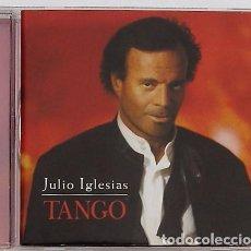 CDs de Música: JULIO IGLESIAS - TANGO (CD) 1996 - 12 TEMAS. Lote 95908299