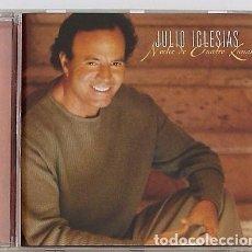 CDs de Música: JULIO IGLESIAS - NOCHE DE CUATRO LUNAS (CD) 2000 - 13 TEMAS. Lote 95908435