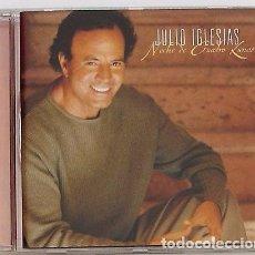 CDs de Música: JULIO IGLESIAS - NOCHE DE CUATRO LUNAS (CD) 2000 - 13 TEMAS. Lote 95908483