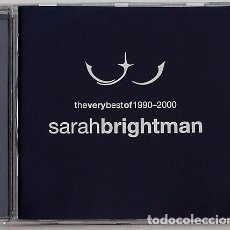 CDs de Música: SARAH BRIGHTMAN - BEST OF 1990-2000 (CD) 2001 - 16 TEMAS. Lote 95910623