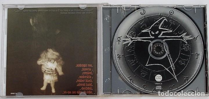 CDs de Música: DEEPSKIN - JUDAS (CD) 2000 - 8 TEMAS + 1 BONUS TRACK (HIDDEN) - Foto 2 - 95914235
