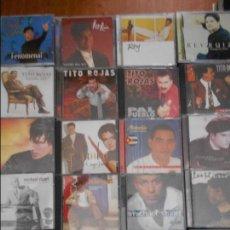 CDs de Música: SALSA. LOTAZO DE 20 CD'S DIFERENTES. 2100 GRAMOS. LUIS ENRIQUE. TRANSPARENTE. LUIS ENRIQUE. EVOLUC. Lote 95939191