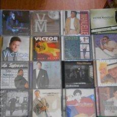 CDs de Música: SALSA. LOTAZO DE 20 CD'S DIFERENTES. 2100 GRAMOS. JERRY RIVERA. VUELO MUY ALTO. JERRY RIVERA. RIVE. Lote 95940475