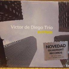 CDs de Música: VÍCTOR DE DIEGO TRÍO. BITTOR. DIGIPACK-CD / QUADRANT RECORDS-2016. 10 TEMAS / PRECINTADO.. Lote 95963111
