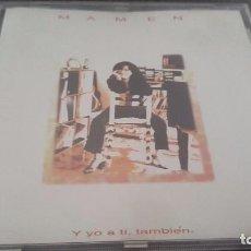 CDs de Música: MAMEN CD Y YO A TÍ, TAMBIÉN 12 TEMAS. Lote 96023643