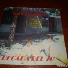 CDs de Música: CASA BASILE CD DECADA 70 NINO BRAVO CLAUDIO BAGLIONI SANTABARBARA JULIO IGLESIAS BEE GEES ADAMO BAU. Lote 96025531