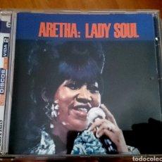 CDs de Música: ARETHA: LADY SOUL. Lote 96025536