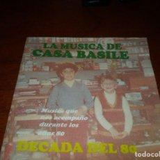 CDs de Música: CASA BASILE CD DECADA 80 ROQUE NARVAJA CAMILO SESTO JAIRO SODA STERERO MADONNA JULIO IGLESIAS SERRAT. Lote 96026075