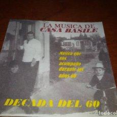 CDs de Música: CASA BASILE CD DECADA 60 ELVIS PRESLEY JULIO SOSA DYANGO JULIO IGLESIAS ADAMO BEATLES ROBERTO CARLOS. Lote 96026283