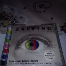 CDs de Música: CD. ZAPPING. UN DISCO SIN INTERRUPCIONES. DOBLE CD. NUEVO PRECINTADO. . Lote 96027147