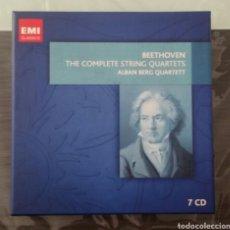 CDs de Música: BEETHOVEN - STRING QUARTETS - ALBAN BERG QUARTET - EMI. Lote 96027206