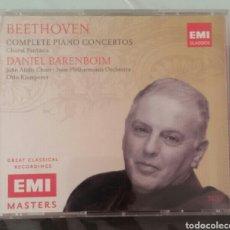 CDs de Música: BEETHOVEN - PIANO CONCERTOS - BARENBOIM - KLEMPERER - EMI. Lote 96028176