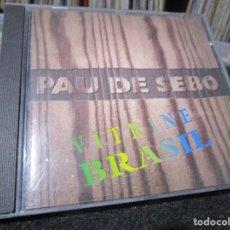 CDs de Música: PAU DE SEBO - VITRINE BRASIL - CD . Lote 96029091
