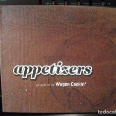 CDs de Música: WAGON COOKIN ' - APPETIZERS - CD - 14 TRAKS - GRUPO DE PAMPLONA - COMO NUEVO ¡¡. Lote 96034899
