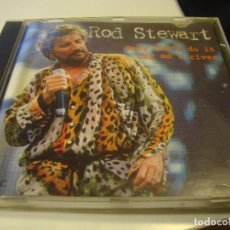 CDs de Música: RAR CD. ROD STEWART. BABY DON'T DO IT CRY ME A RIVER. MADE IN SPAIN.. Lote 96036887