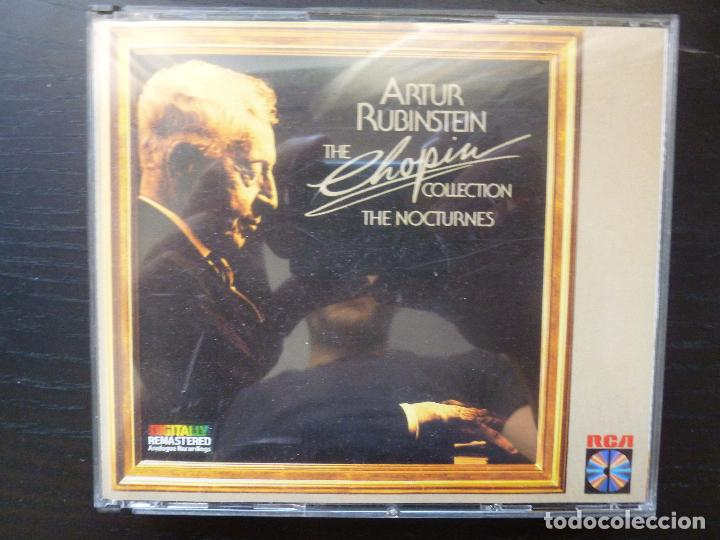 ARTHUR RUBINSTEIN THE CHOPIN COLECTION THE NOCTURNES 1982 RCA 2CD