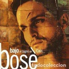 CDs de Música: MIGUEL BOSÉ. BAJO EL SIGNO DE CAÍN. Lote 96075707
