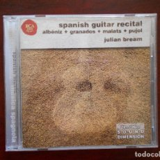 CDs de Música: CD SPANISH GUITAR RECITAL - ALBENIZ, GRANADOS, MALATS, PUJOL - JULIAN BREAM (2W). Lote 96091979