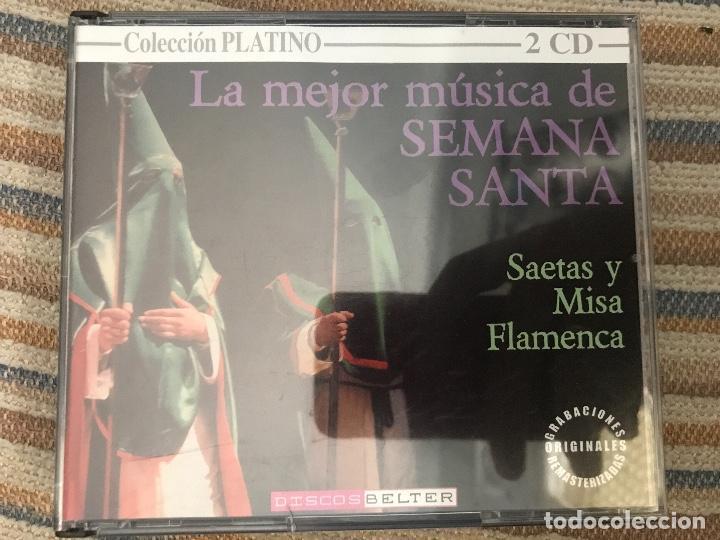 CD DOBLE LA MEJOR MÚSICA DE SEMANA SANTA (Música - CD's Clásica, Ópera, Zarzuela y Marchas)