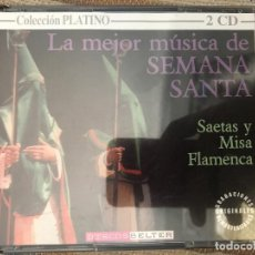 CDs de Música: CD DOBLE LA MEJOR MÚSICA DE SEMANA SANTA . Lote 96132291