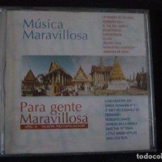 CDs de Música: MUSICA MARAVILLOSA PARA GENTE MARAVILLOSA. VOL. 8. NUEVA RECOPILACION. CD HORUS 1997. Lote 96133863