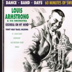 CDs de Música: CD LOUIS ARMSTRONG & HIS ORCHESTRA GEORGIA ON MY MIND . Lote 96141875