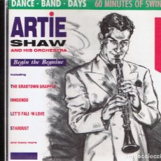 CDs de Música: CD ARTIE SHAW AND HIS ORCHESTRA . Lote 96142071