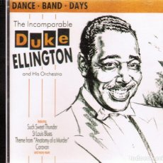 Music CDs - CD THE INCOMPARABLE DUKE ELLINGTON AND HIS ORCHESTRA - 96143827