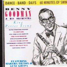 CDs de Música: CD BENNY GOODMAN & HIS ORCHESTRA . Lote 96144083
