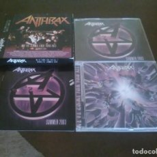 CDs de Música: ANTHRAX - 2 CD - WE'VE COME FOR YOU ALL - SUMMER EDITION 2003 - JOHN BUSH. Lote 96169959