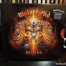 CDs de Música: MOTORHEAD - INFERNO - CD+DVD - LIMITED EDITION. Lote 96177931