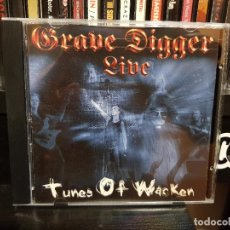 CDs de Música: GRAVE DIGGER - TUNES OF WACKEN. Lote 96177991